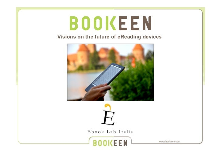 Visions on the future of eReading devices