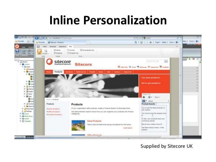 Inline Personalization<br />