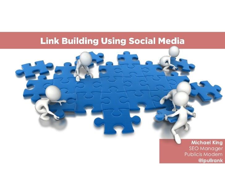 Link Building Using Social Media
