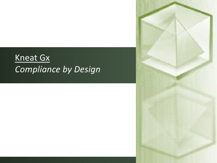 Kneat Gx Compliance by Design