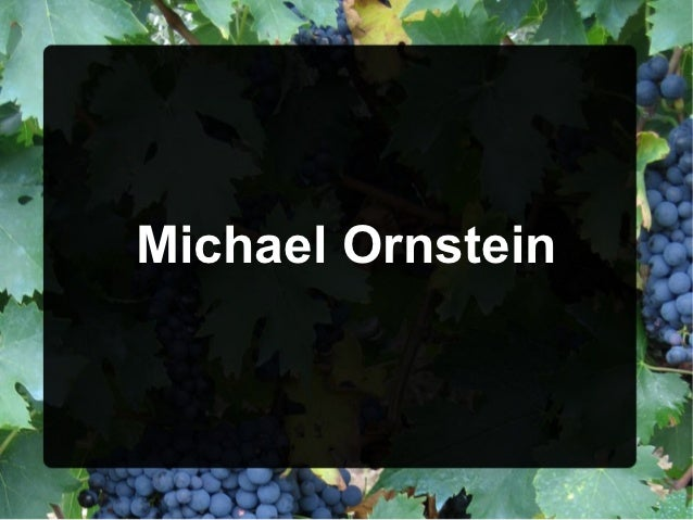 Michael Ornstein, New York Was a Reebok consultant