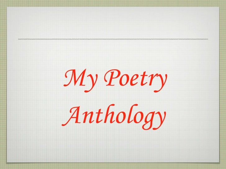 Michael\'s Poetry Anthology