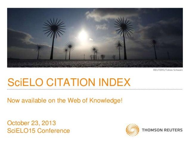 SciELO CITATION INDEX