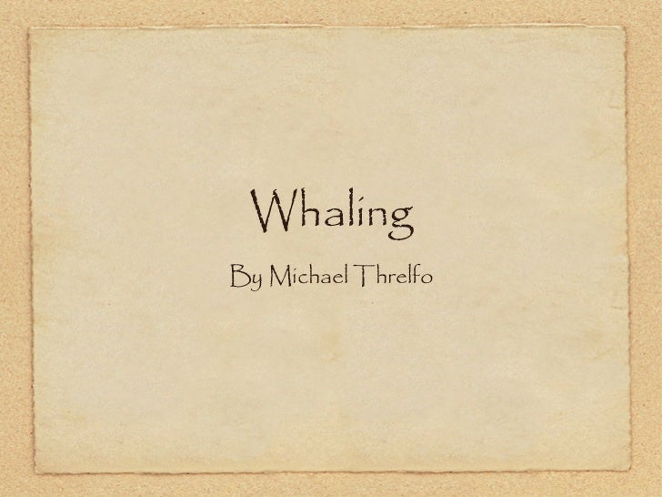 Whaling Assessment