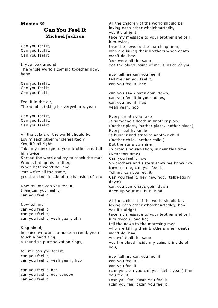 Songtext von Michael Jackson - Heal the World Lyrics