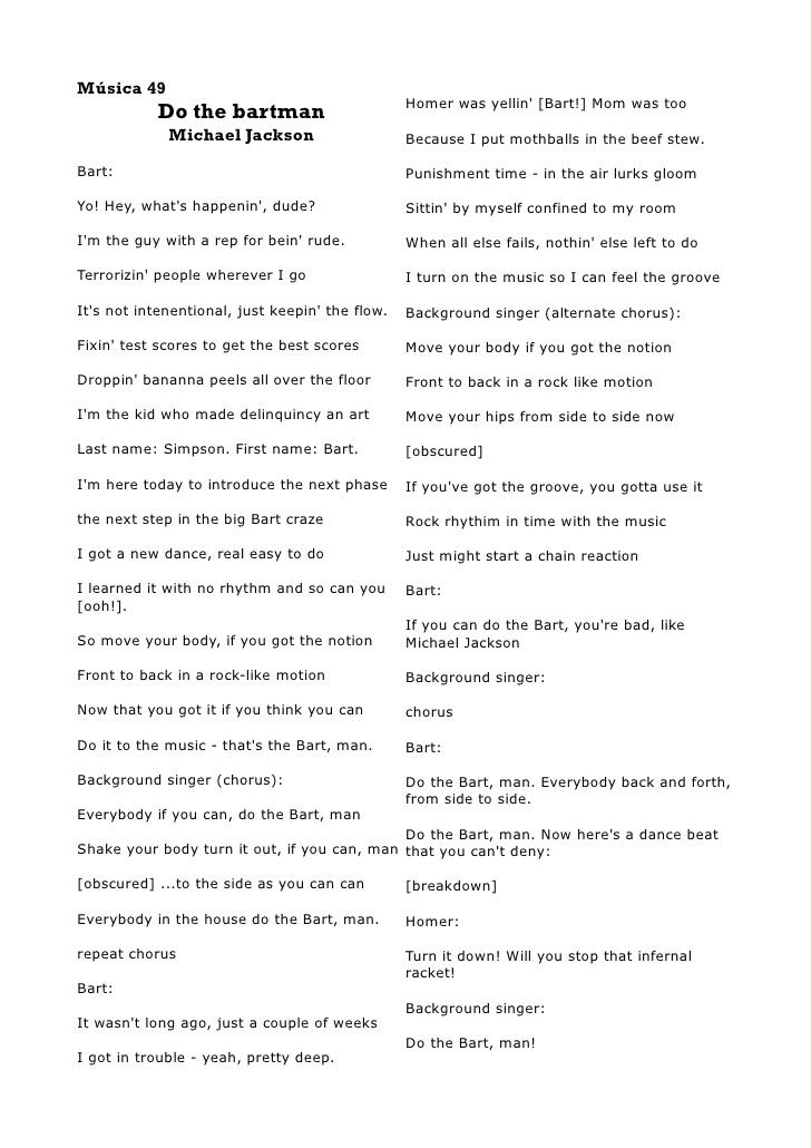 Michal Jackson Lyrics Book I