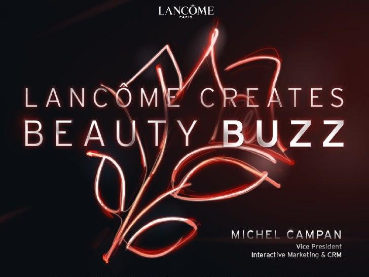 Michel  Campan  Lancome