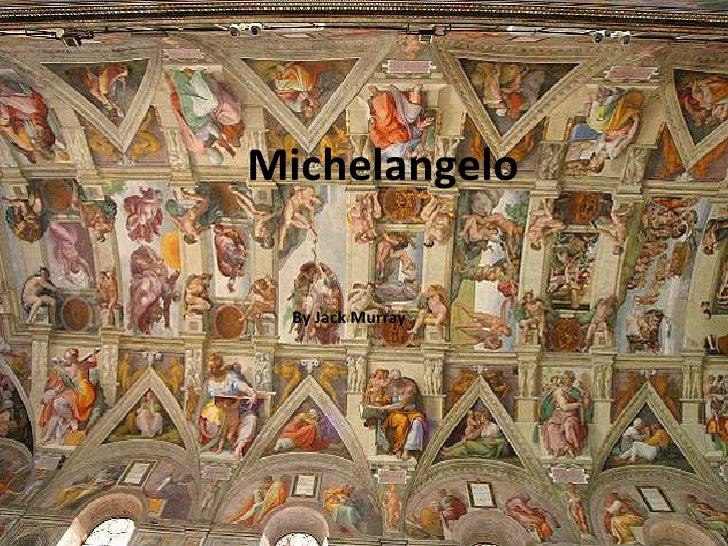 Michelangelo powerpoint