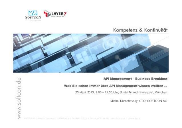 SOFTCON AG | Aidenbachstrasse 42 | 81379 München | Tel.+49 89 78 5000 -0 Fax +49 89 78 5000-99 | contact@softcon.de | letz...
