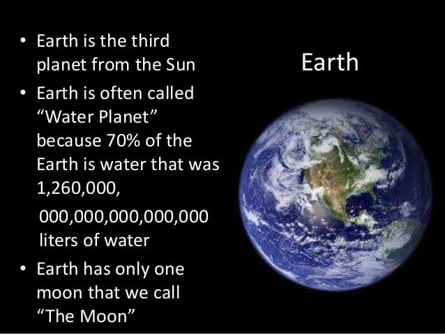 planet earth information - photo #40