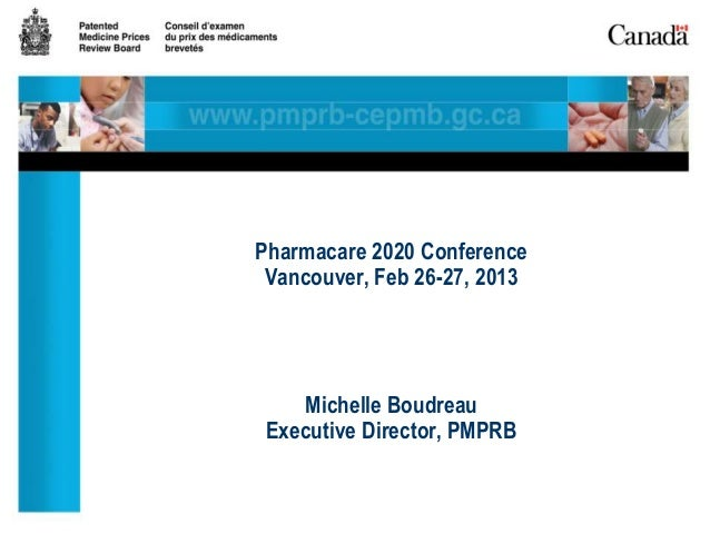 Michelle Boudreau - Patented Drug Pricing and Coverage