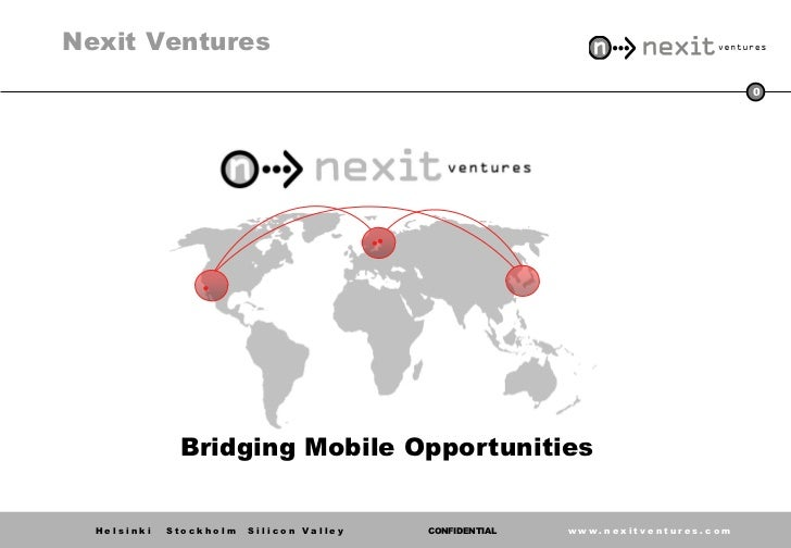 Nexit Ventures                                                                                 0              Bridging Mob...