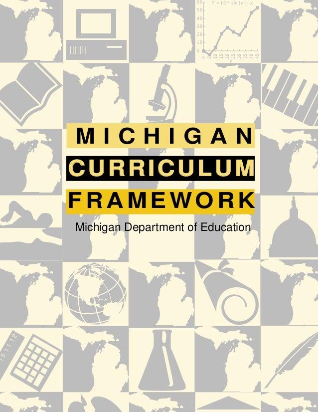 Michigan curriculumframework