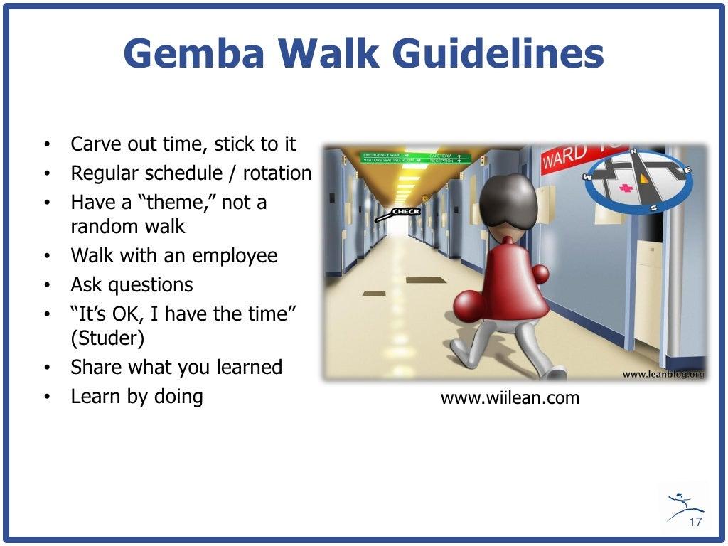 Safety Walk Boards : Gemba walk guidelines carve