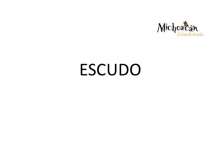 ESCUDO<br />