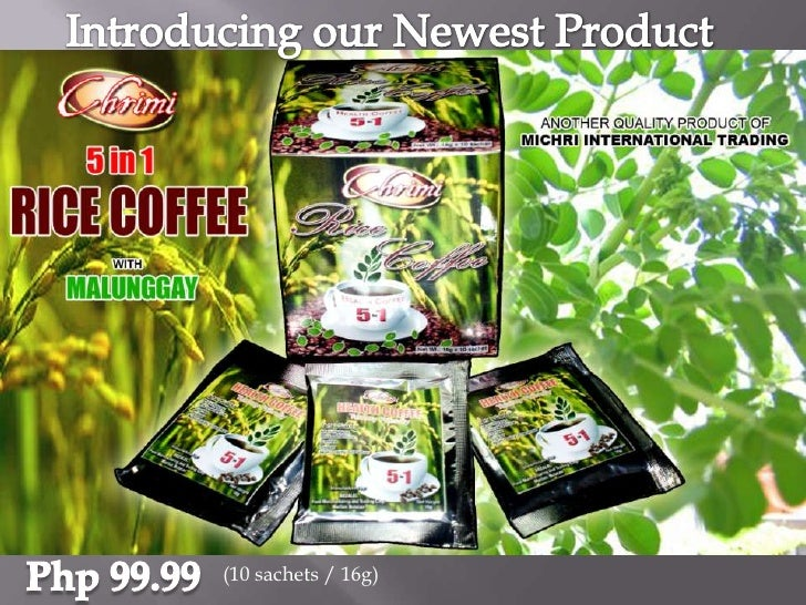 Introducing our Newest Product<br />Php 99.99<br />(10 sachets / 16g)<br />