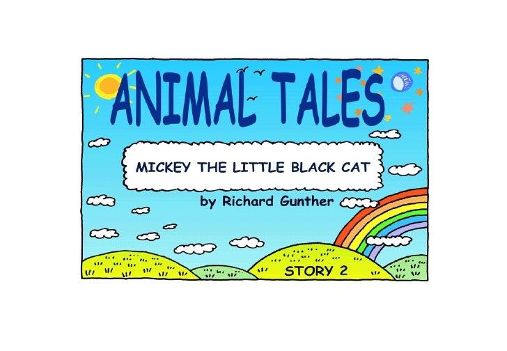 Mickey the Black Cat