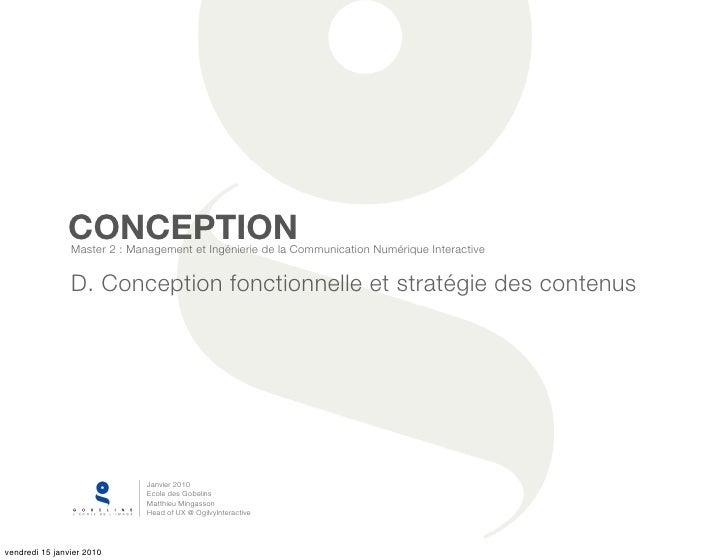 Framework et stratégie des contenus
