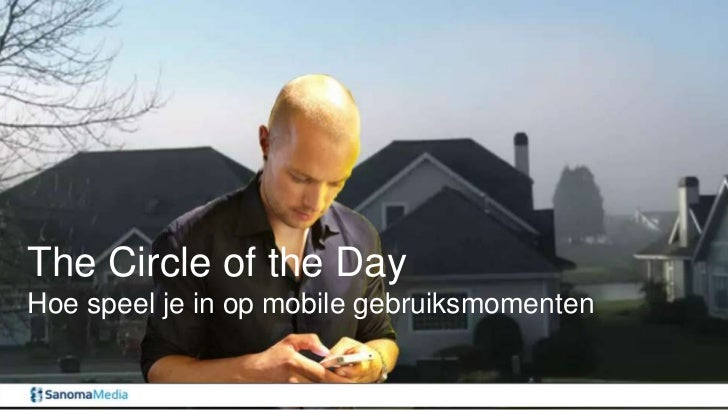 Mobile advertising - The circle of the Day