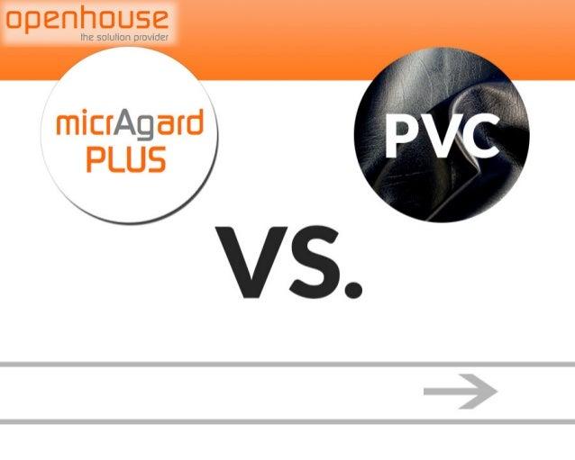 micrAgard PLUS vs. PVC (The dangers of PVC)