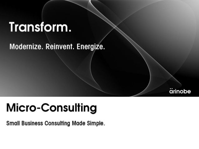 Micro consulting