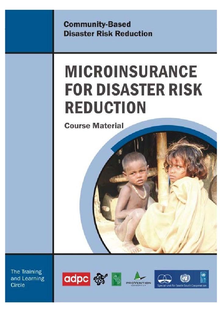 Micro  Insurance Module    T L C  India