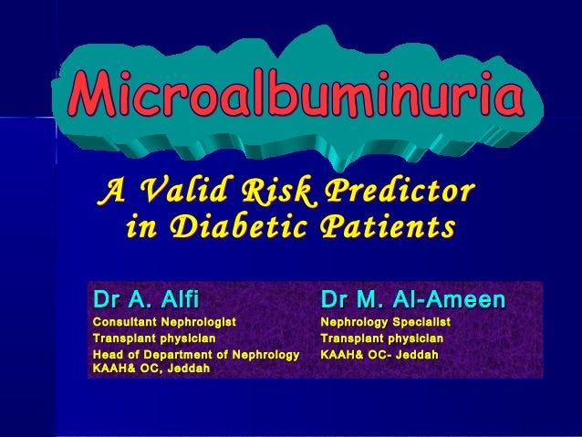 Dr A. AlfiDr A. Alfi Consultant NephrologistConsultant Nephrologist Transplant physicianTransplant physician Head of Depar...