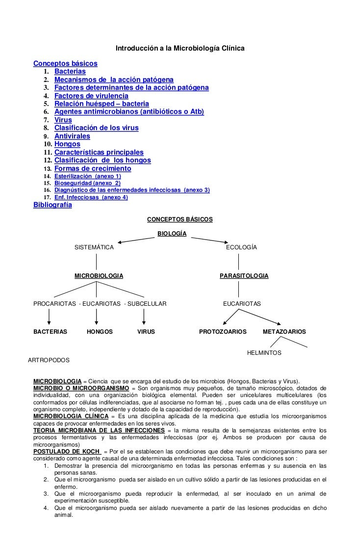 Introducción a la Microbiología Clínica<br />Conceptos básicos<br />Bacterias<br />Mecanismos de  la acción patógena<br />...