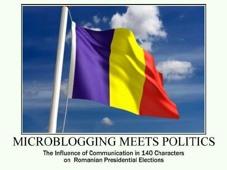 Microblogging meets politics