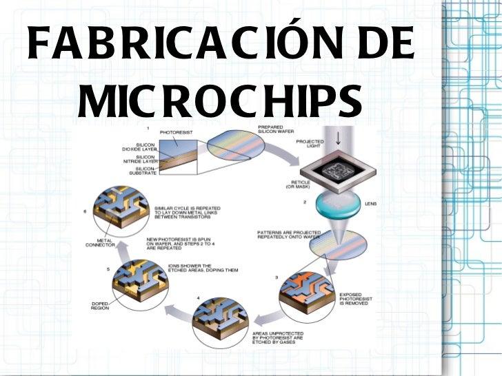 FABRICACIÓN DE MICROCHIPS