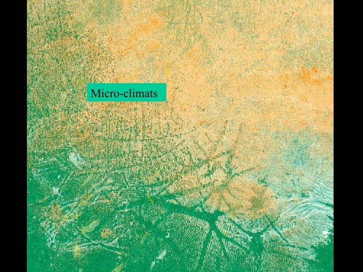Micro-climats Micro-climats