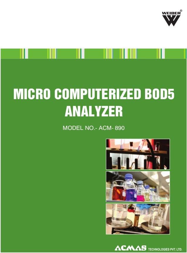 Micro Computerized Bod5 Analyzer by ACMAS Technologies Pvt Ltd.