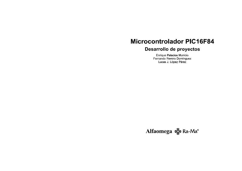 Microcontrolador 16F84