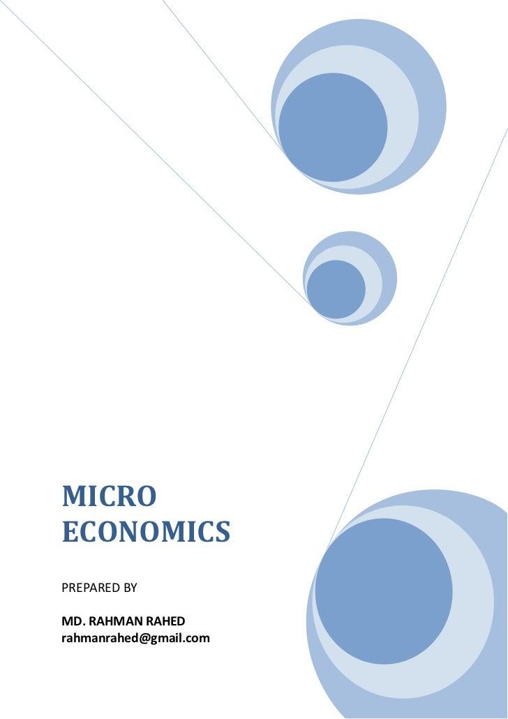 Micro eco