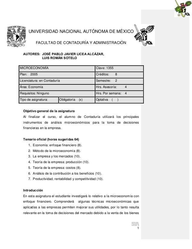 Microeconom. mx