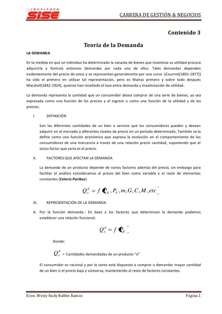 CARRERA DE GESTIÓN & NEGOCIOS                                                                                       Conten...