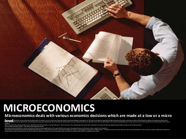 microeconomics assignments