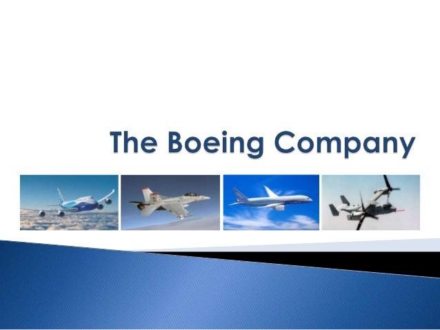 Boeing Company_Microeconomics