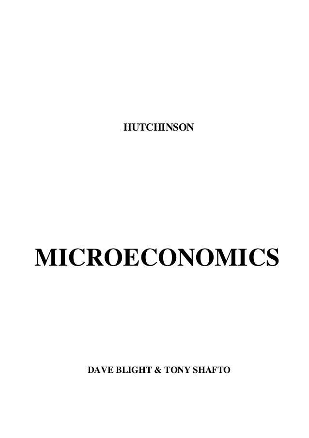 Microeconomie