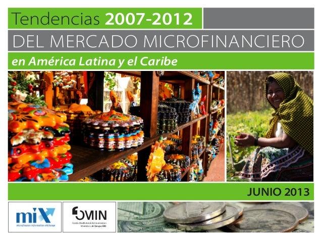 Tendencias 2007–2012 del mercado microfinanciero en América Latina y el Caribe