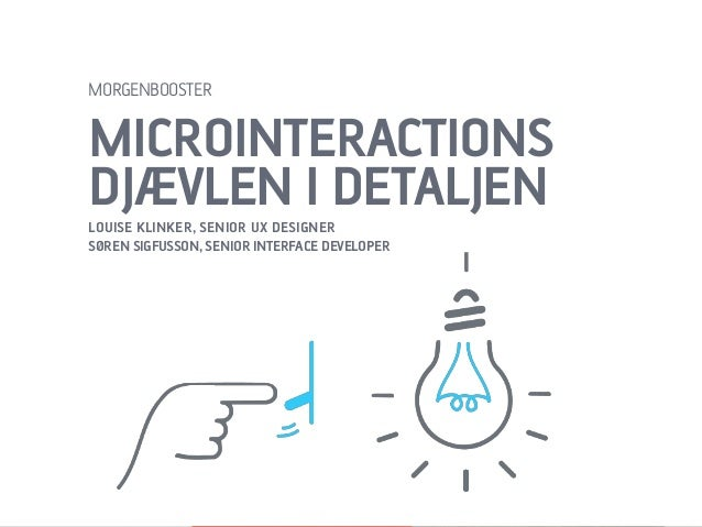 Morgenbooster / Microinteractions