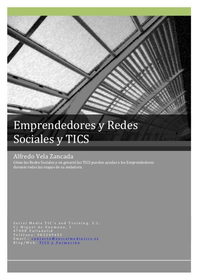 Guía sobre Emprendedores y Redes Sociales y TICS