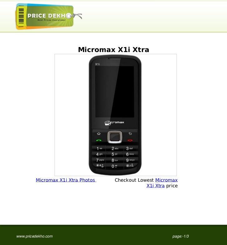 Micromax X1i Xtra image