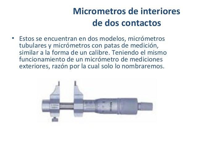 Micrometro o1 - Micrometro de interiores ...