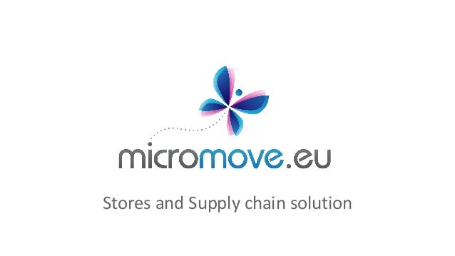 Stores and Supply chain solution