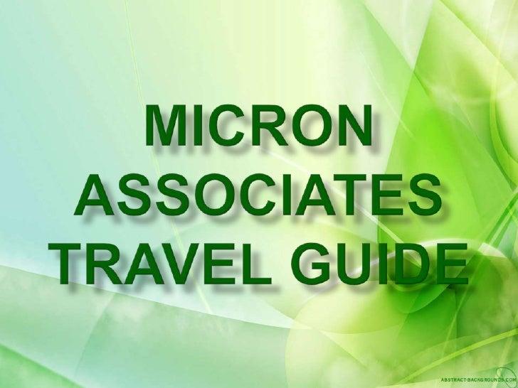 Top 10 Micron Associates world tourists plugs