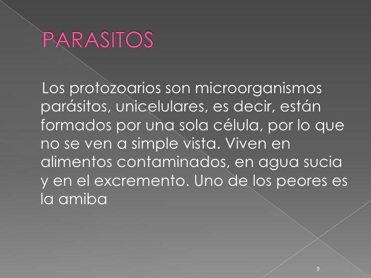 Los análisis a los parásitos por los números