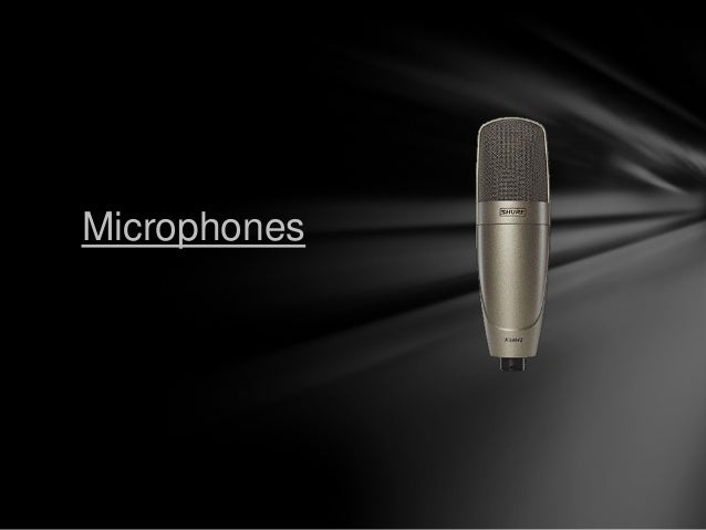Microphones an introduction