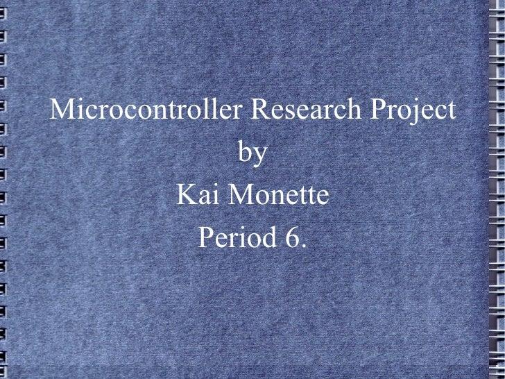 Micro presentation.