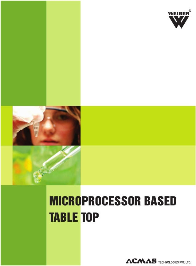 Microprocessor Based Table Top Category by ACMAS Technologies Pvt Ltd.